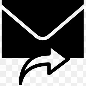 Curved Arrow Tool - Email Message Icon Design PNG