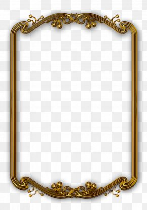 Classical Gold Frame - Picture Frame Frame Line PNG