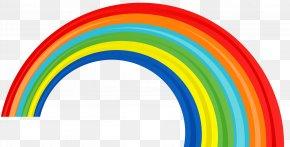 Transparent Rainbow Picture - Rainbow Clip Art PNG
