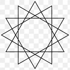 22 March - Star Polygon Dodecagon Circumscribed Circle Regular Polygon PNG