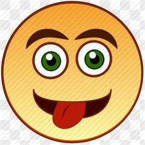 Tongue Face Emoticon - Smiley Emoticon Clip Art PNG