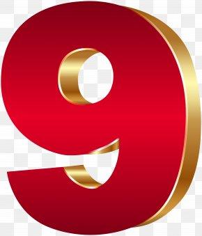 9 - Number 3D Computer Graphics Clip Art PNG