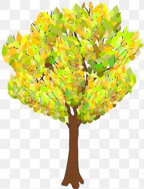 Tree - Tree Autumn Branch Clip Art PNG