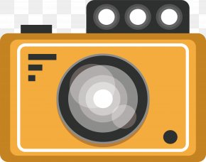 Ginger Digital Camera - Digital Camera Euclidean Vector PNG