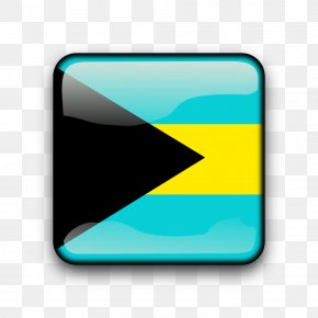 Bs - Flag Of The Bahamas Clip Art Image PNG