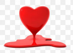 Happy Valentines Day - Heart Dicentra Eximia Symbol Clip Art PNG