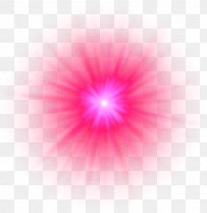 Light - Light Petal Circle Pattern PNG
