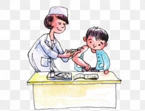 Doctor Vaccines - Varicella Vaccine Vaccination Infectious Disease Child PNG