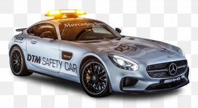 Gray Mercedes AMG GTS Safety Car - Deutsche Tourenwagen Masters Sports Car Mercedes-Benz Safety Car PNG