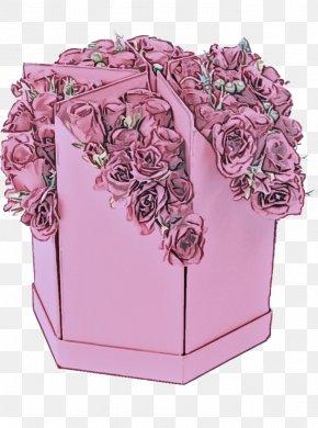 Magenta Floral Design - Floral Design PNG