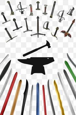 Sword - Foam Larp Swords Live Action Role-playing Game Foam Weapon PNG