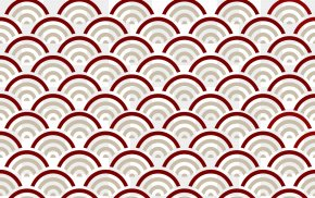 Red Scale Films Shading Pattern - China Scale Escama De Peixe Fish PNG