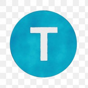 Material Property Cross - Blue Turquoise Aqua Teal Symbol PNG