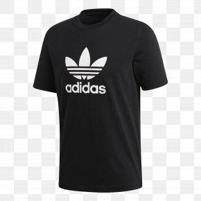 Adidas T Shirt - T-shirt Adidas Originals Trefoil PNG