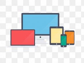 Web Design - Responsive Web Design Flat Design Mobile App Handheld Devices PNG