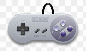 NES Controller Cliparts - Super Nintendo Entertainment System Wii Game Controllers Video Game Consoles PNG