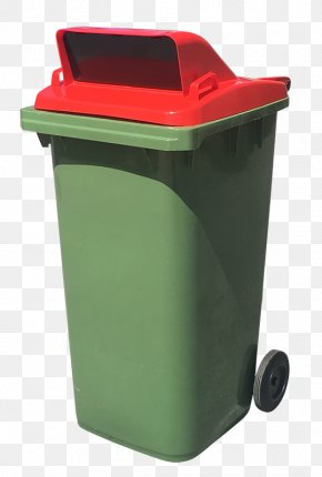 Recycling Household Supply - Waste Container Recycling Bin Green Waste Containment Plastic PNG