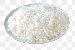 A Dish Of Rice - White Rice Naan Dish Food PNG