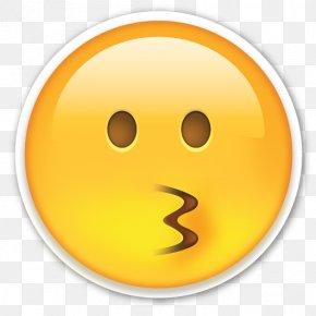 Smiley - Emoji Sticker Paper Die Cutting Kiss PNG