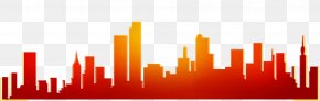 City Silhouette Red Gradient - 2014 Summer Youth Olympics Nanjing 2012 Summer Olympics Olympic Games Universiade PNG