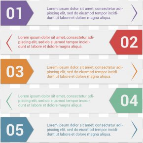 Vector Hand-painted Label PPT - Infographic Web Template System PNG