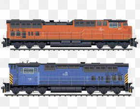 Train - Train Railroad Car Passenger Car Transport PNG
