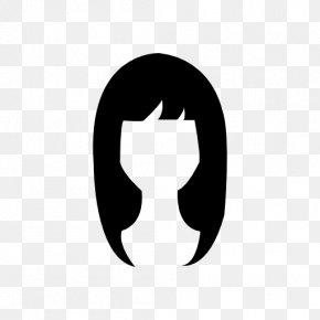 Beauty - Black Hair Long Hair Hairstyle PNG