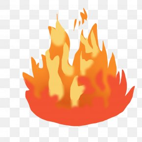 Flame Cartoon Cliparts - Flame Fire Clip Art PNG