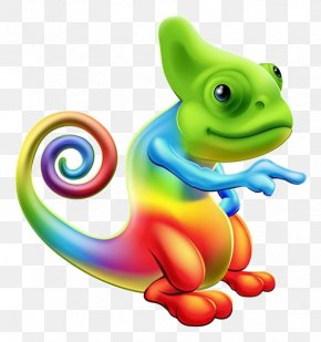 Cartoon Chameleon Material - Chameleons Stock Photography Clip Art PNG