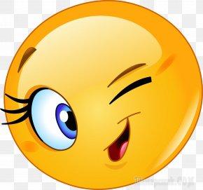 Smiley - Smiley Emoticon Wink Clip Art PNG