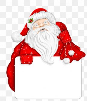 Santa Claus - Santa Claus Christmas Day Image Borders And Frames Clip Art PNG