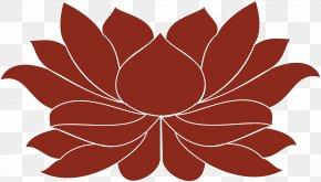 Design - Petal Floral Design Symmetry Pattern PNG