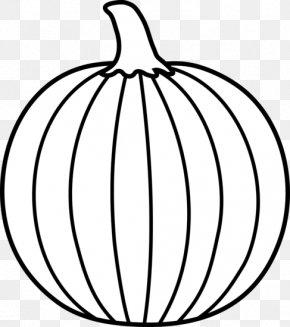 Pumpking Black Cliparts - Pumpkin Line Art Black And White Clip Art PNG
