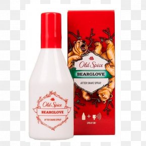 Perfume - Lotion Old Spice Aftershave Shaving Body Spray PNG