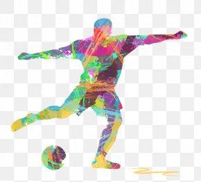 Football - Football Player Euclidean Vector Illustration PNG