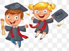 School - Graduation Ceremony School Cartoon PNG