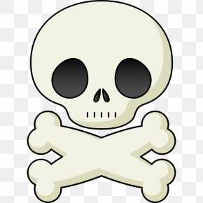 Cartoon Skull - Skull And Crossbones Human Skull Symbolism Skull And Bones Clip Art PNG