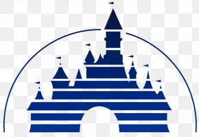 Disneyland Logo Hong - Buena Vista Walt Disney Studios Motion Pictures The Walt Disney Company Logo PNG