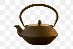 Japanese Style Iron Teapot - Teapot Style Cast Iron Kettle PNG