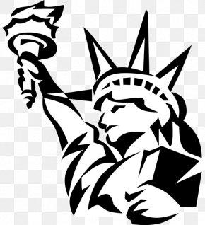 Statue Of Liberty - Statue Of Liberty Clip Art Illustration Vector Graphics PNG