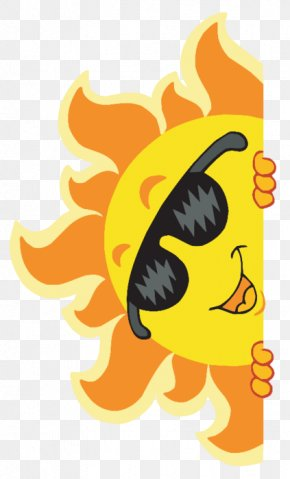 Cartoon Sun - Sunglasses Stock Photography Stock Illustration Clip Art PNG