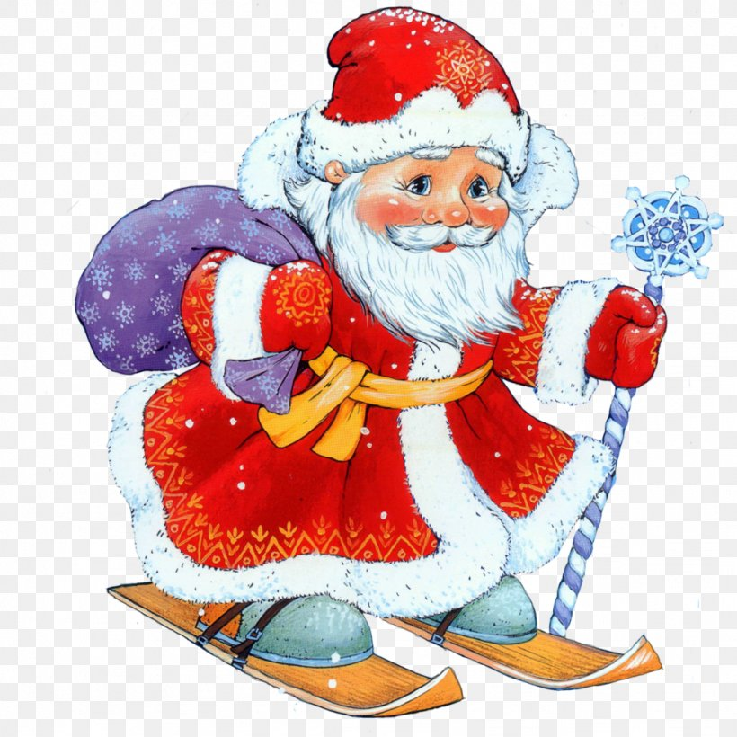 Ded Moroz Snegurochka Santa Claus Holiday New Year, PNG, 1024x1024px, Ded Moroz, Art, Birthday, Child, Christmas Download Free
