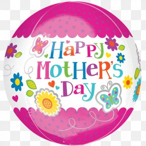 Mother's Day - Mother's Day Party Balloon Gift PNG