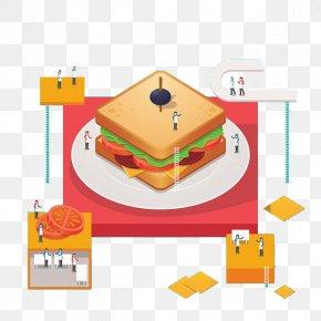 Big Bread - Bread Cartoon Clip Art PNG