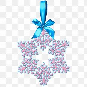 Snowflake - Christmas Ornament Snowflake Clip Art PNG