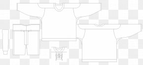 Jersey Template - Paper Product Design Pattern Brand Line Art PNG