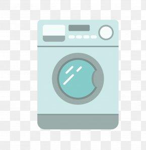 Flat Automatic One Washing Machine - Washing Machine Euclidean Vector PNG