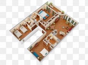 House - Floor Plan Las Casitas Village, A Waldorf Astoria Resort House Bedroom PNG