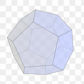 Three Dimensional Style - Regular Dodecahedron Polyhedron Edge Pentagon PNG