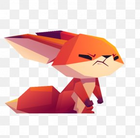 Cartoon Angry Red Fox - Anger Cartoon Red Illustration PNG